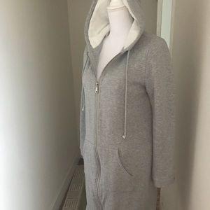 Long line hoodie